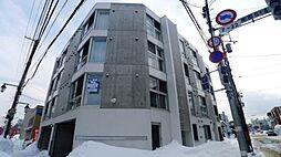 北海道札幌市豊平区美園八条4丁目の賃貸マンションの外観