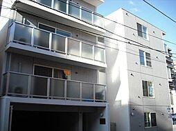 北海道札幌市中央区南九条西10丁目の賃貸マンションの外観