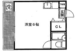 シティビラTK[203号室号室]の間取り