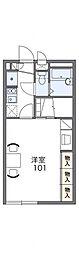 マロンハイツII[1階]の間取り