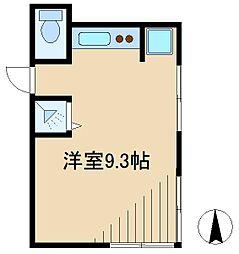 双葉町アパート[2階]の間取り