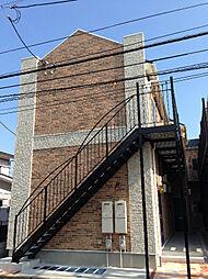 ハーミットクラブハウスクラーネB[1階]の外観