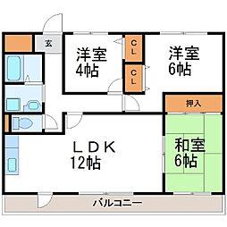 オカピハウス[4階]の間取り