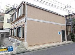東京都江戸川区平井1丁目の賃貸アパートの外観