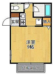 小林弐番館[1階]の間取り