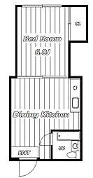 エアリーハイツII[3階]の間取り