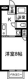 上佐鳥町新築アパート[101号室]の間取り