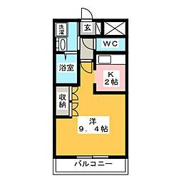 アラモード[1階]の間取り
