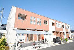 埼玉県越谷市レイクタウン1丁目の賃貸アパートの外観
