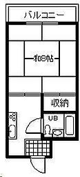 モアレ21[301号室]の間取り