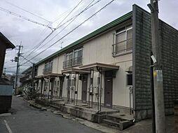 兵庫県尼崎市田能3丁目の賃貸アパートの外観