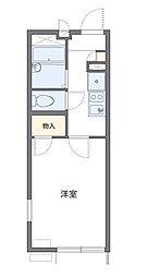 サンシャイン貫井北[2階]の間取り