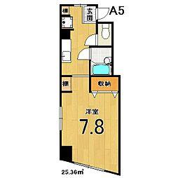 スクリーン3233[320号室]の間取り