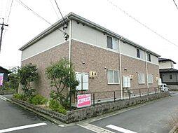 愛知県稲沢市中之庄町辻畑の賃貸アパートの外観