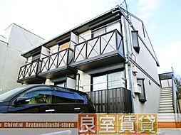 愛知県名古屋市南区笠寺町字上新町の賃貸アパートの外観
