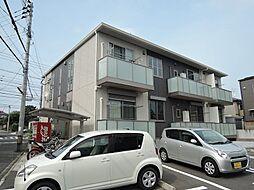 福岡県北九州市若松区二島6丁目の賃貸アパートの外観