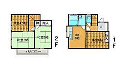 [一戸建] 東京都町田市金森4丁目 の賃貸【/】の間取り