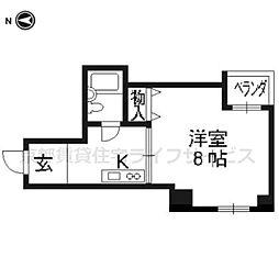 SQUARE‐f[2階]の間取り