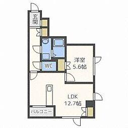 シティライズマンション[2階]の間取り