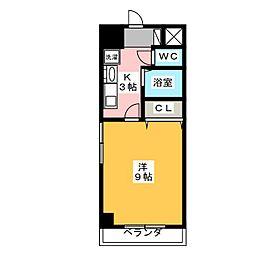 フローラ98[6階]の間取り