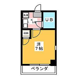 メゾンドロワール[1階]の間取り