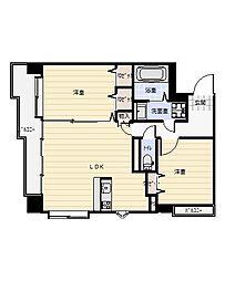 ニューサンリバー12番館[6階]の間取り