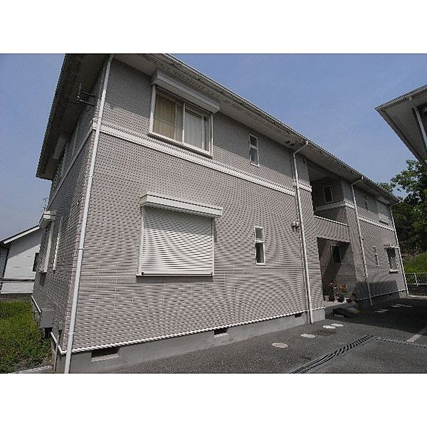 奈良県奈良市学園南2丁目の賃貸アパートの外観