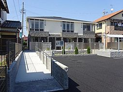 愛知県北名古屋市石橋角畑丁目の賃貸アパートの外観