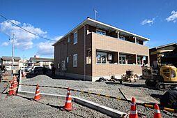 栃木県鹿沼市下田町2の賃貸アパートの外観