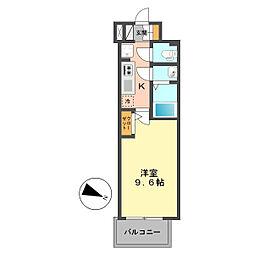 東京都江戸川区南小岩7丁目の賃貸マンションの間取り