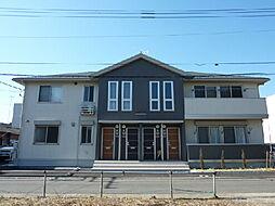 茨城県水戸市見川5丁目の賃貸アパートの外観