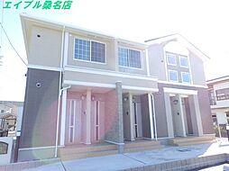三重県桑名市大字福島の賃貸アパートの外観