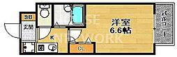 プレサンス京都駅前II[301号室号室]の間取り