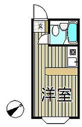 ベルピア・鎌倉第8[2階]の間取り