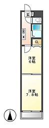 BloisCerezo[8階]の間取り