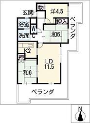 KAMENOI HOUSE[1階]の間取り