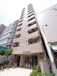 東京都新宿区住吉町の賃貸マンションの外観