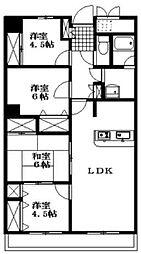 アーバンコート中須賀弐番館[1093号室]の間取り