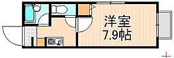 押上プラザマンション[201号室]の間取り
