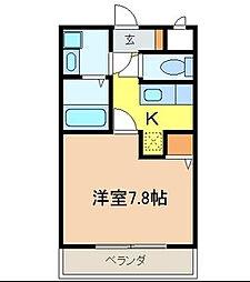 センタービレッジ北松戸[1階]の間取り