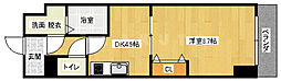織花館[3階]の間取り