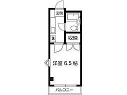 KNビル[4階]の間取り