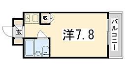 グリーンハイツ梅ヶ谷[213号室]の間取り