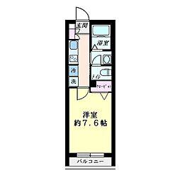 IP STAGE 東神奈川[0303号室]の間取り