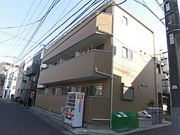 東京都大田区東蒲田2丁目の賃貸アパートの外観
