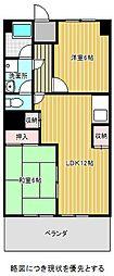愛知県名古屋市千種区東山通3丁目の賃貸マンションの間取り