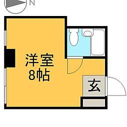 ライオンズ名古屋ビル[7階]の間取り