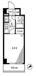 シティハイツ吉祥寺[3階]の間取り