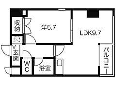 ララハート[2階]の間取り