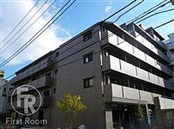 東京都大田区多摩川2丁目の賃貸マンションの外観